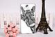 Чехол накладка силиконовая для Samsung Galaxy J710 с картинкой Силуэт девушки, фото 5