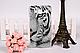 Чехол накладка силиконовая для Samsung Galaxy J710 с картинкой Силуэт девушки, фото 7