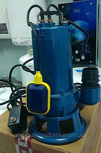 Фекальный насос с режущим механизмом  WQ10-7-0.55QG