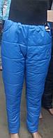 Теплые Спортивные женские штаны (ПЛАЩЕВКА+СИНТЕПОН+флис), р 42-48, доставка по Украине