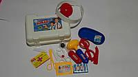 """Детский набор доктора  """"Маленький Доктор"""",15предм,в чемоданчике 195х140х75 мм,Країна Іграшок.Детский игровой н"""
