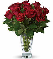 Букет долгосвежих роз Багровый Гранат