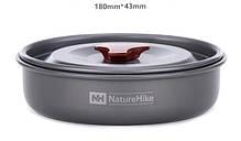 Набор туристической посуды из анодированного алюминия Naturehike NH15T203-G, фото 2