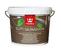 Лак влагозащитный TIKKURILA  SUPI SAUNASUOJA для древесины, 2,7л