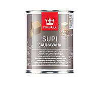 Масло-воск влагозащитный TIKKURILA  SUPI SAUNAVAHA для саун, 0,9л