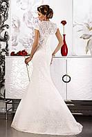 Болеро свадебное «Felicita» из гипюра и кружев