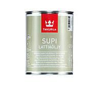 Масло влагозащитное TIKKURILA  SUPI FLOOR OIL для полов, 0,9л
