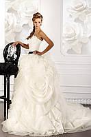 Пышное свадебное платье «Душа розы»