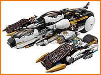 """Большой Конструктор аналог Lego 70595 """"Внедорожник с суперсистемой маскировки"""""""