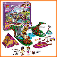 "Конструктор Bela Friends 10493 ""Спортивный лагерь: сплав по реке"" (аналог LEGO Friends 41121), 325 дет​"