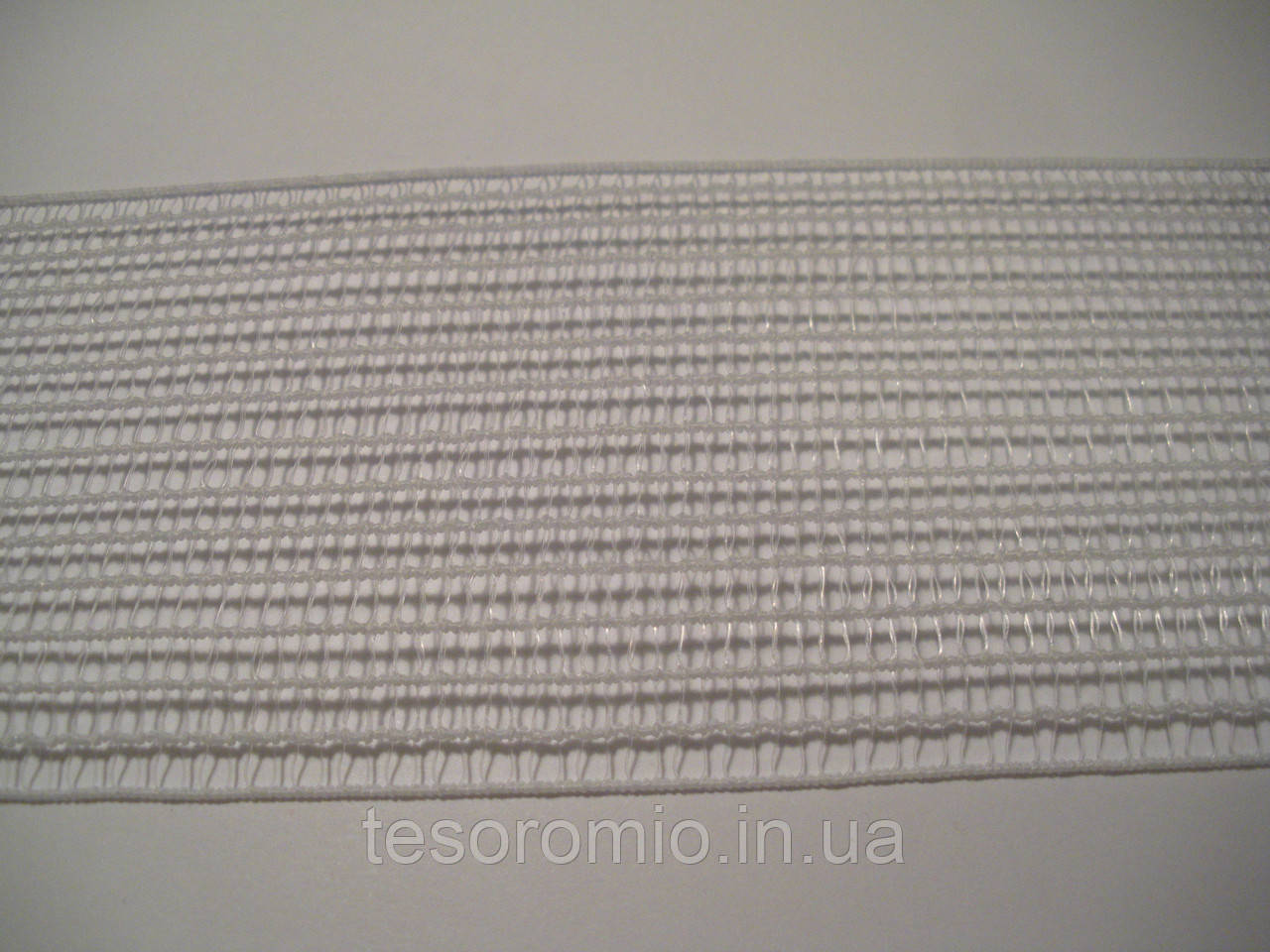 Резинка сетка белая 4,3 мм ширина