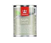 "Лак ""металлик"" TIKKURILA  SUPI ARCTIC для саун, 0,9л"