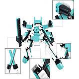 """Конструктор SLUBAN """"Космічна серія. Робот"""", 237 деталей, фото 2"""