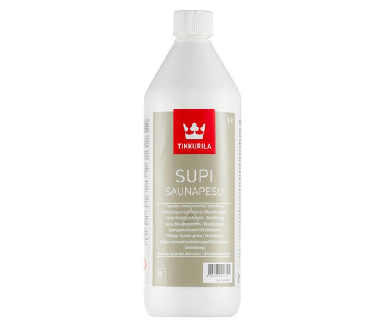 Очиститель кислотный TIKKURILA  SUPI SAUNAPESU для саун 1л