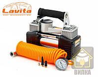 Автомобильный компрессор двухцилиндровый Lavita 191521