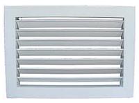 Решетка вентиляционная алюминиевая однорядная регулируемая РОР1