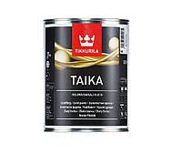 "Краска ""перламутр"" TIKKURILA TAIKA  PAINT, золотистый (база КМ), 0,9л"
