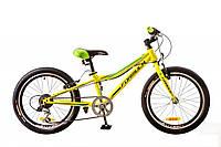 "Велосипед Formula Lime 20"" 14G Vbr рама-10"" St 2017 (OPS-FR-20-021) салатный"