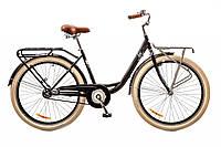 """Велосипед Дорожник Lux 26"""" 14G рама-17"""" St 2017 (OPS-D-26-016) черный с багажником"""