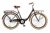 """Велосипед Дорожник Lux 26"""" 14G планет. рама-17"""" St 2017 (OPS-D-26-022) черный с багажником"""