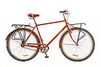 """Велосипед Дорожник Comfort Male 28"""" 14G рама-22"""" St 2017 (OPS-D-28-074) оранжевый с багажником"""