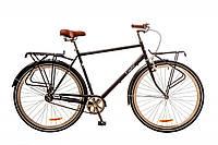 """Велосипед Дорожник Comfort Male 28"""" 14G рама-22"""" St 2017 (OPS-D-28-075) черный с багажником"""