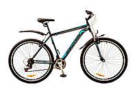 "Велосипед Discovery Trek 29"" AM 14G DD рама-21"" St 2017 (OPS-DIS-29-021) черно-сине-серый"