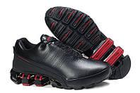 Кроссовки Adidas Porsche Design P5000 Кожа Черно-красные