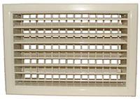 Решетка алюминиевая вентиляционная трехрядная регулируемая РТР1