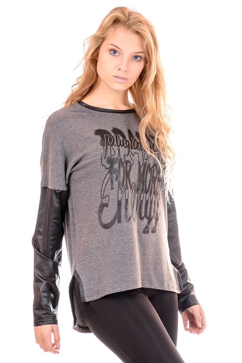 Кофта женская Irvik KR01 серый