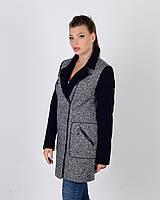 Пальто косуха весеннее женскоеТвид, фото 1