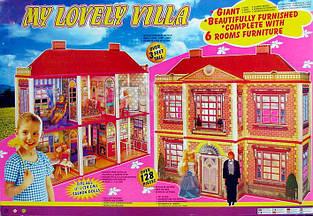 Кукольный домик 6 комнат My Lovely Villa 6983
