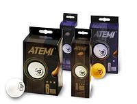Мячи для настольного тенниса ATEMI* белые /6шт/ - 15030