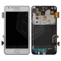 Дисплейный модуль для мобильного телефона Samsung I9100 Galaxy S2, белый