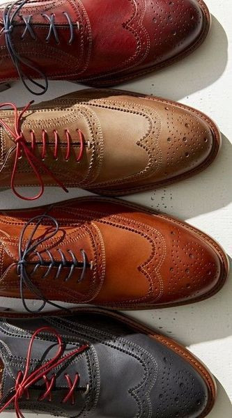 Качественные туфли броги