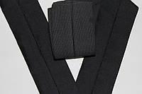 Резинка манжетная 130мм.  черный , фото 1