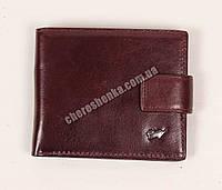 Мужской кожаный кошелек Braun Buffel BR-662 Коричневый