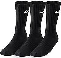 Носки Nike value cotton crew /3 пары/ черные /sx4508 001 - 20933