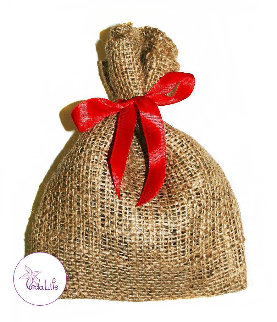 Набор пряностей для Глинтвейна Праздничный, отборные цельные пряности в холщовом мешочке, 35 грамм
