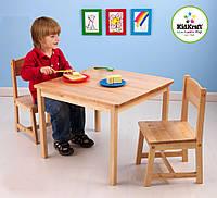 Детский стол со стульями деревянный KidKraft 21221