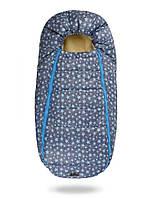 Дитячий конверт на овчинні для новонародженних (Baby XS Блакитні зірки)