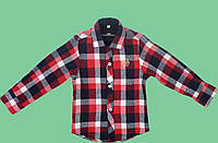 Рубашка для мальчика теплая 152 Турция