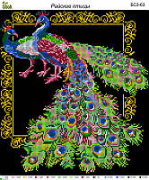 Схема для вышивки бисером Райские птицы