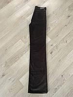 Джинсы женские вельветовые, классические, осенние, прямые, завышенная талия Lexus jeans
