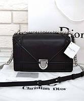 Женская сумка DIOR DIORAMA BLACK 2 (2296)