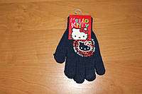Перчатки для девочек Hello kitty ТМ Sun City, 15см