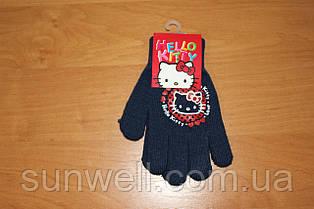 Рукавички для дівчаток Hello kitty ТМ Sun City, 15см
