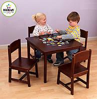 Детский стол со стульями из дерева KidKraft 21451