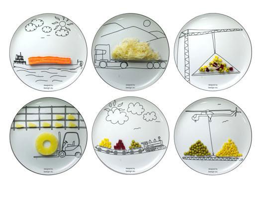 Оригинальные тарелки