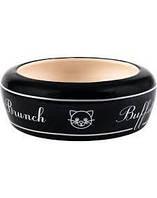 ZOLUX Керамическая миска для кошек Buffet 13 cm 0,3 l черный